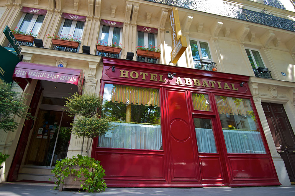 Hotel Abbatial Paris near saint germain